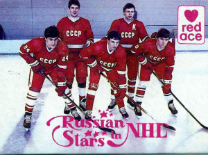 RED ACE Russian Stars in NHL 1991-1992