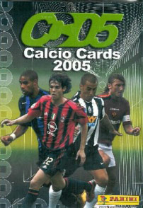 PANINI Calcio Cards 2004-2005