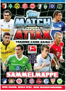 TOPPS Немецкая Бундеслига 2012-2013. Match Attax