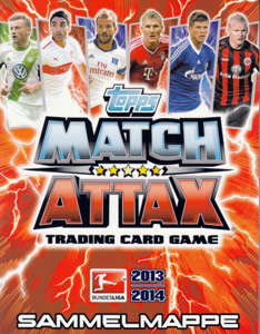 TOPPS Немецкая Бундеслига 2013-2014. Match Attax
