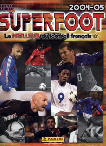 PANINI SuperFoot 2004-2005