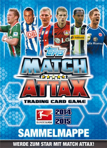 TOPPS Немецкая Бундеслига 2014-2015. Match Attax