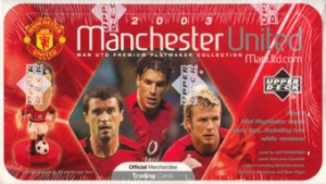 Upper Deck Manchester United Mini Playmakers 2003