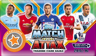 TOPPS Английская Премьер-Лига 2015-2016. Match Attax