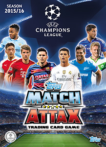 TOPPS Лига Чемпионов УЕФА 2015-2016. Match Attax