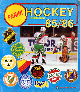 PANINI Hockey Elitserien 1985-1986