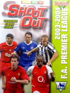 MAGIC BOX Shoot Out Premier League 2003-2004