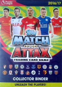 TOPPS Английская Премьер-Лига 2016-2017. Match Attax