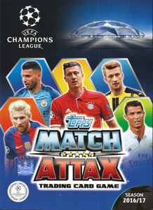 TOPPS Лига Чемпионов УЕФА 2016-2017. Match Attax