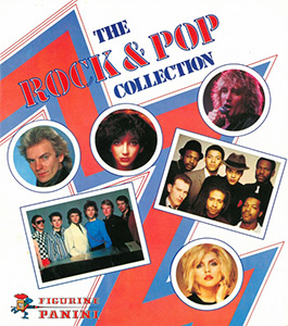PANINI Rock & Pop Collection 1980
