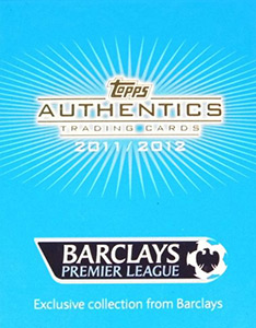 TOPPS Authentics Trading Cards 2011-2012