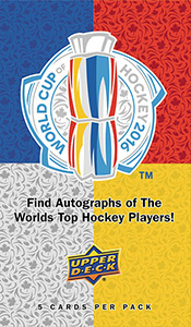 Upper Deck World Cup of Hockey 2016