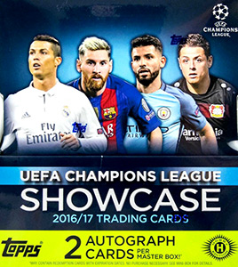 TOPPS UEFA Champions League Showcase 2016-2017