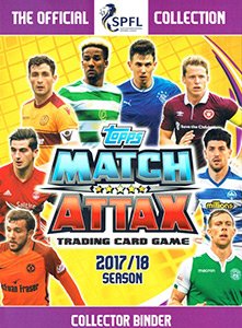 TOPPS Чемпионат Шотландии 2017-2018. Match Attax