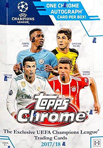 TOPPS UEFA Champions League Chrome 2017-2018