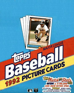 TOPPS Major League Baseball 1992