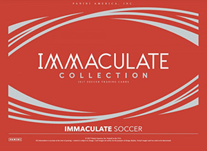 PANINI Immaculate Soccer 2017