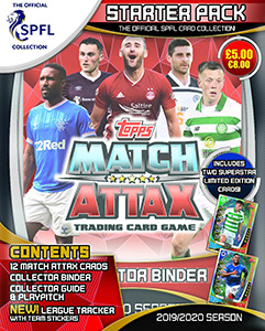 TOPPS Чемпионат Шотландии 2019-2020. Match Attax