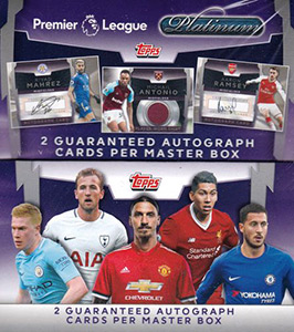 TOPPS Premier League Platinum 2017-2018
