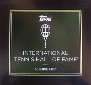 TOPPS International Tennis Hall of Fame