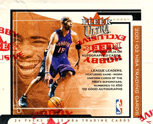FLEER Ultra NBA 2001-2002