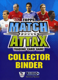 TOPPS Английская Премьер-Лига 2008-2009. Match Attax