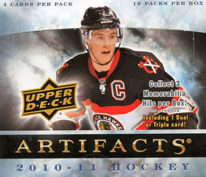 Upper Deck Artifacts 2010-2011