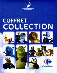 Coffret Collection. Dreamworks Carrefour