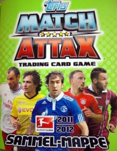 TOPPS Немецкая Бундеслига 2011-2012. Match Attax