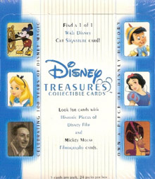 Upper Deck Disney Treasures 1