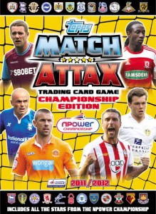 TOPPS NPower Championship 2011-2012. Match Attax