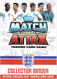 TOPPS Англия 2012 (Евро). Match Attax