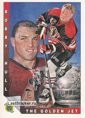 Bobby Hull (1960-61 Stanley Cup) (Chicago Black Hawks)