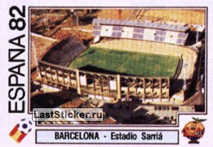 Barcelona - Estadio Sarria (Estadio)