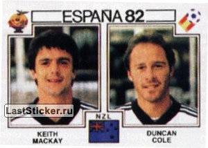 Keith Mackay & Duncan Cole (New Zealand)