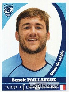 Benoît Paillaugue (Montpellier Hérault Rugby)