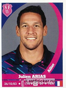 Julien Arias (Stade Français Paris)