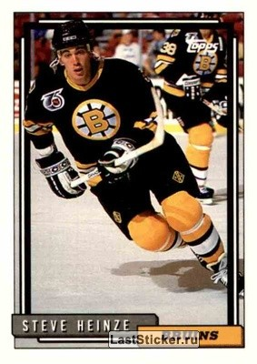 Steve Heinze (Boston Bruins)