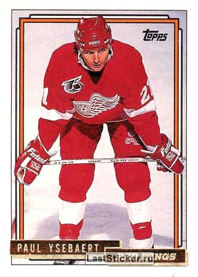 Paul Ysebaert (Detroit Red Wings)
