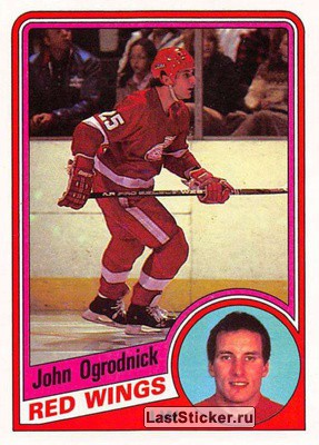 John Ogrodnick (Detroit Red Wings)