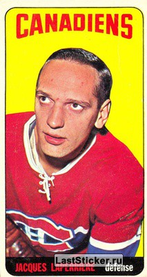 Jacques Laperriere (Montreal Canadiens)