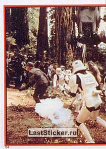 Stormtroopers advance (Biker Scout Peril)