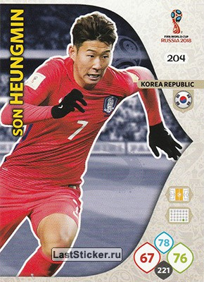 Son Heung-min (Korea Republic)