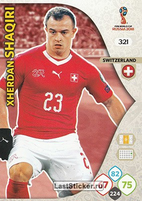 Xherdan Shaqiri (Switzerland)