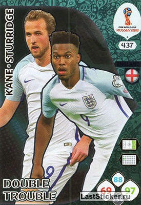 Harry Kane / Daniel Sturridge (England)