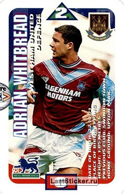 Adrian Whitbread (West Ham United)