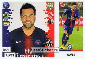Dani Alves (Paris Saint-Germain)