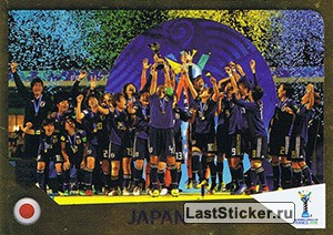 Winner Japan (U-20 Women's world cup)