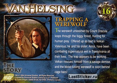 Trapping a Werewolf (The Story) - обратная сторона