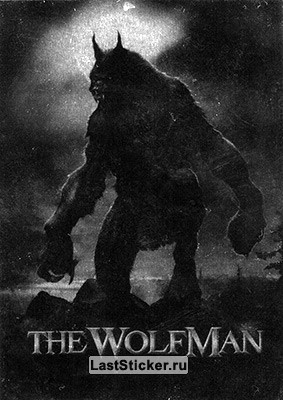 WolfMan (Silver Foil)